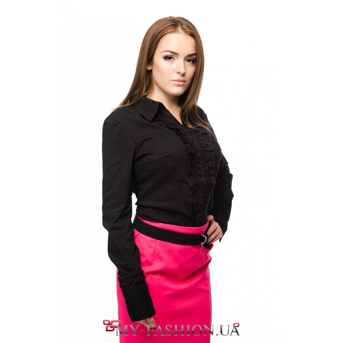 Блузка черного цвета