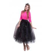 Праздничная пышная юбка чёрного цвета