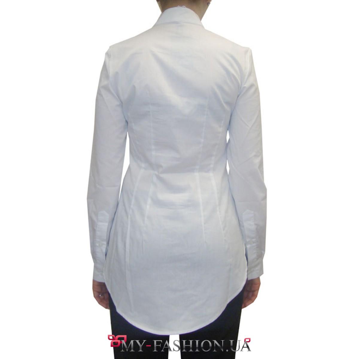 Блузки с воротником стойка доставка