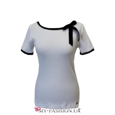 Купить красивую блузку с бантом