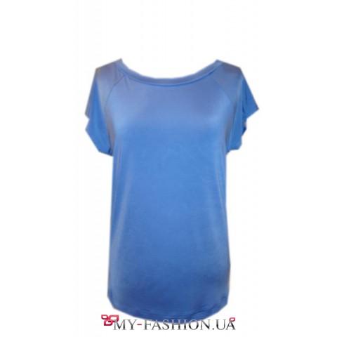 Блузка с удлиненной спинкой с доставкой
