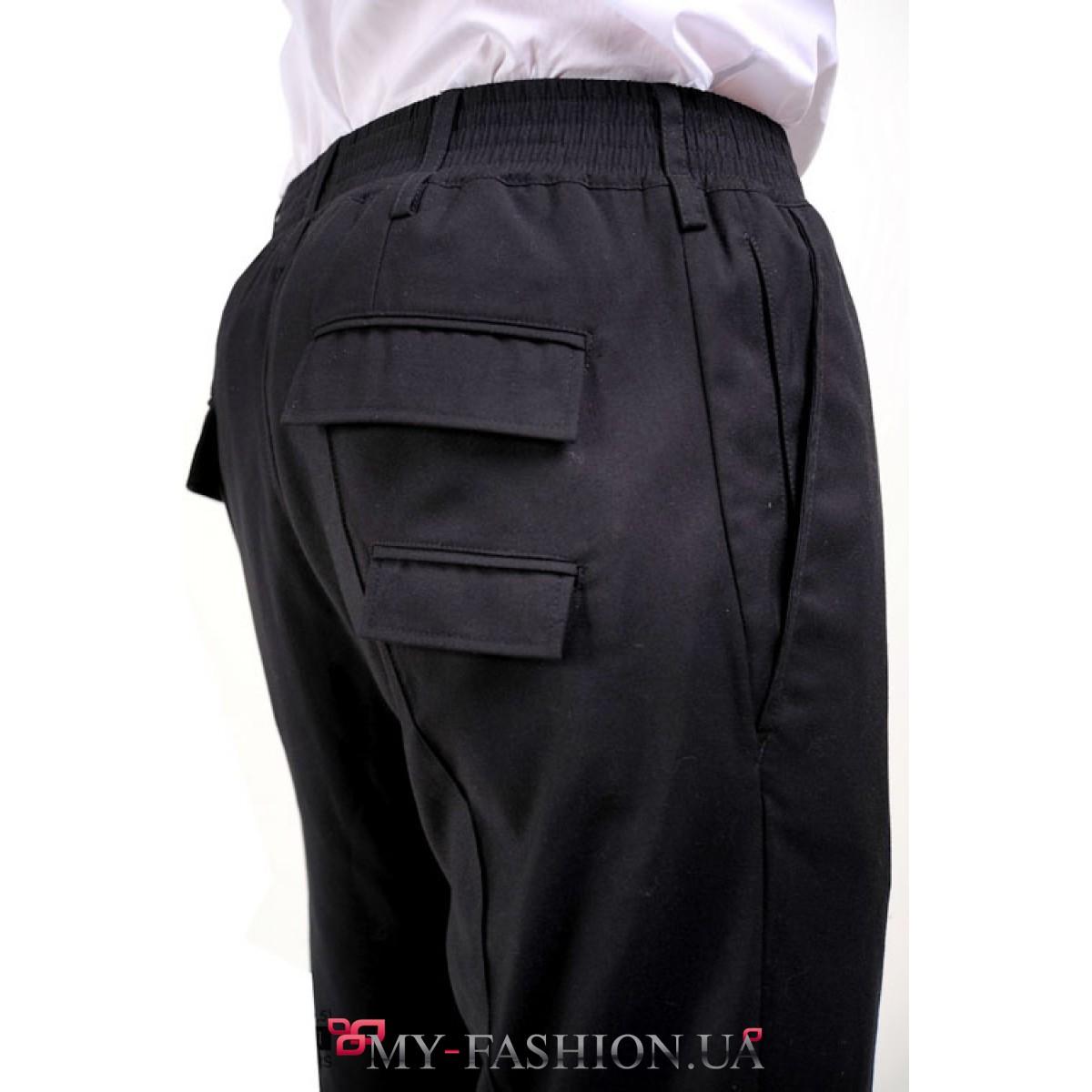 Брюки с карманами мужские