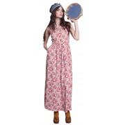 Яркое летнее платье - сарафан с карманами