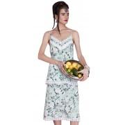 Летнее платье-сарафан на тонких бретелях