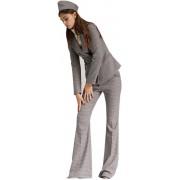 Дизайнерские женские расклешённые брюки
