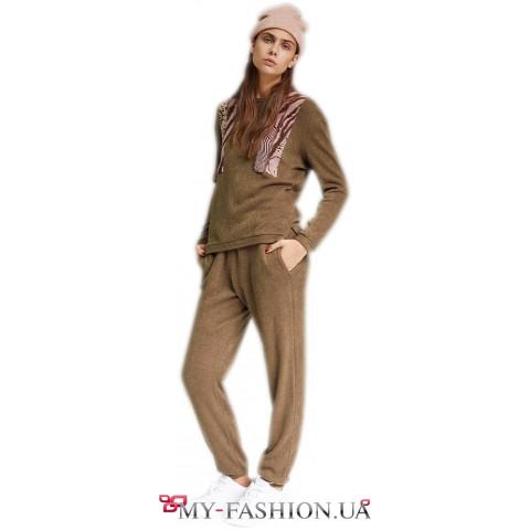 Женские брюки свободного силуэта