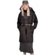 Женское пальто черного цвета