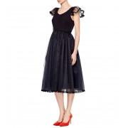Коктейльное платье черного цвета
