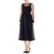 Очаровательное коктейльное платье черного цвета