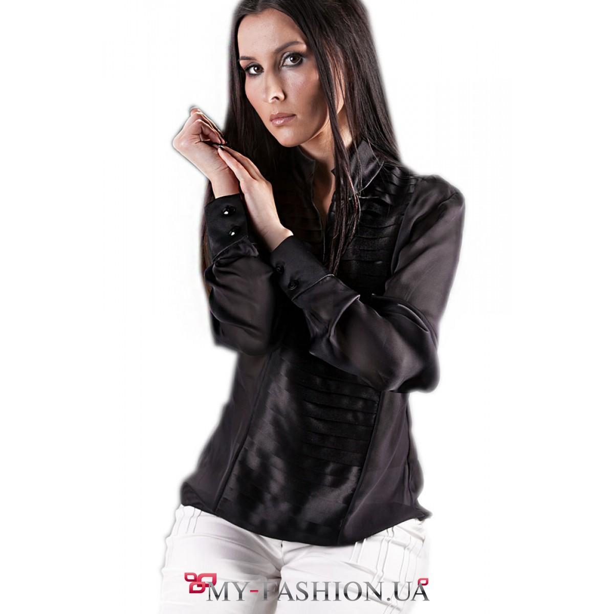 Белая блузка черная юбка доставка