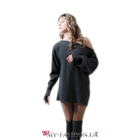 Трикотажный комплект: свитер и гетры