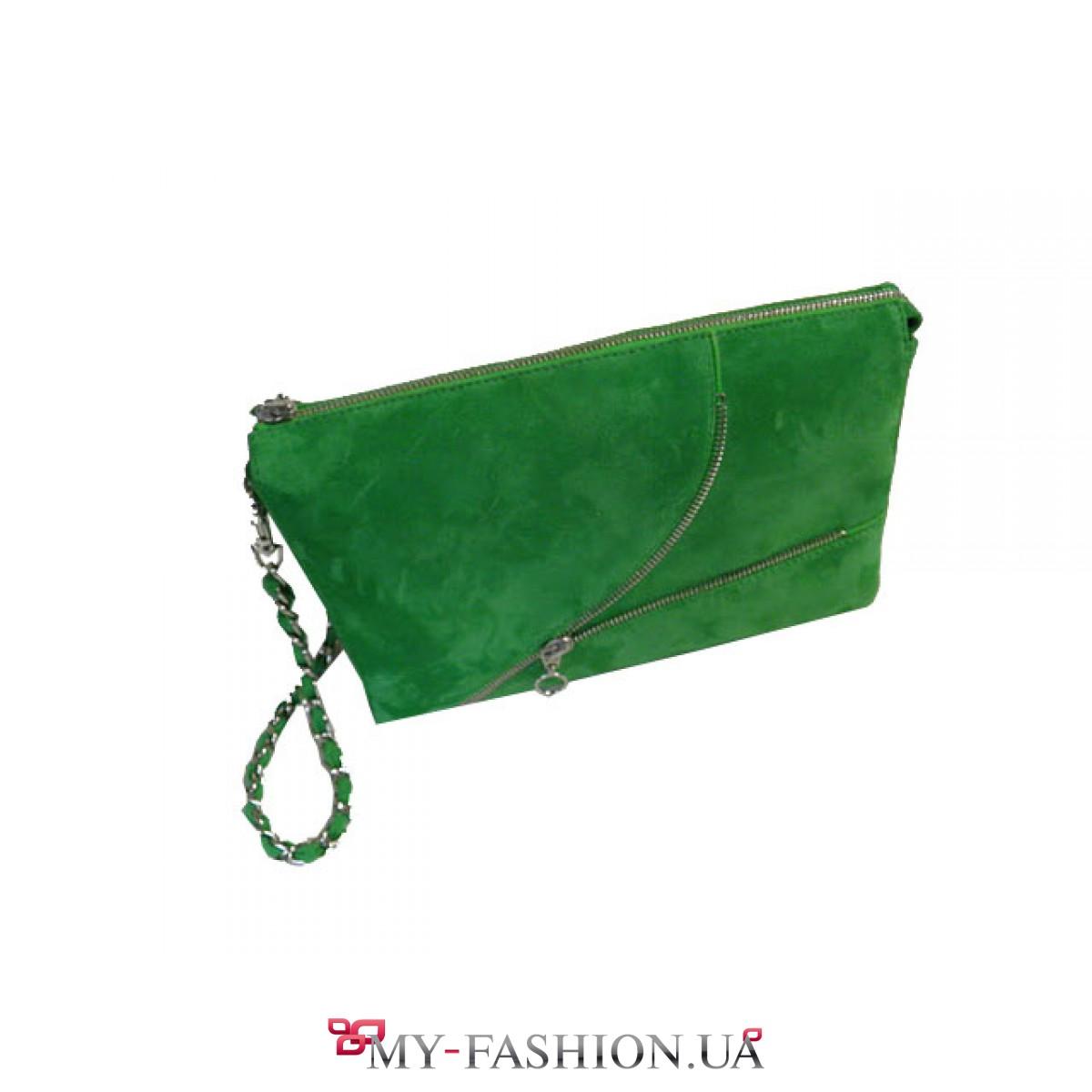 d349afe5fb62 Зеленая сумка из замш- велюра Gala Gurianoff купить в Киеве, gala-0132
