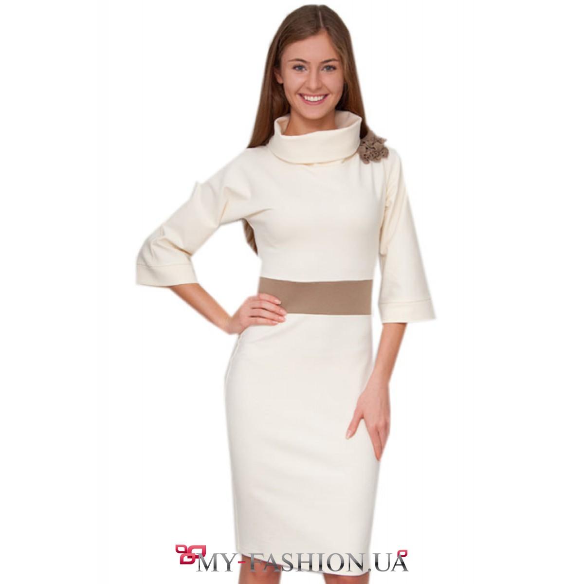 Платья с очень широкими рукавами