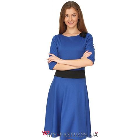 """Модное платье """"Элетра"""" с поясом"""
