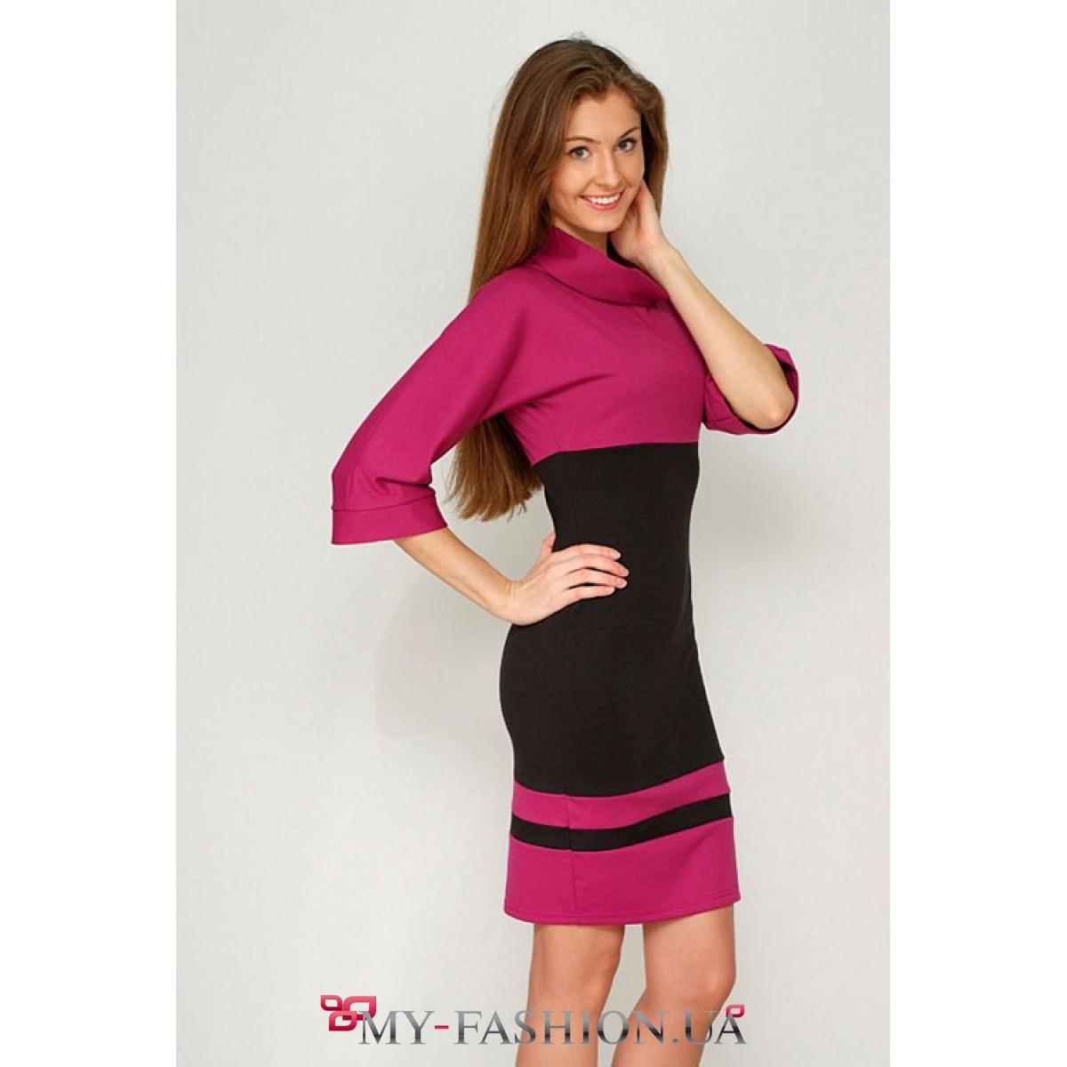 Платье черно доставка