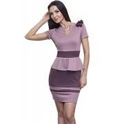 Привлекательное платье цвета фрезии