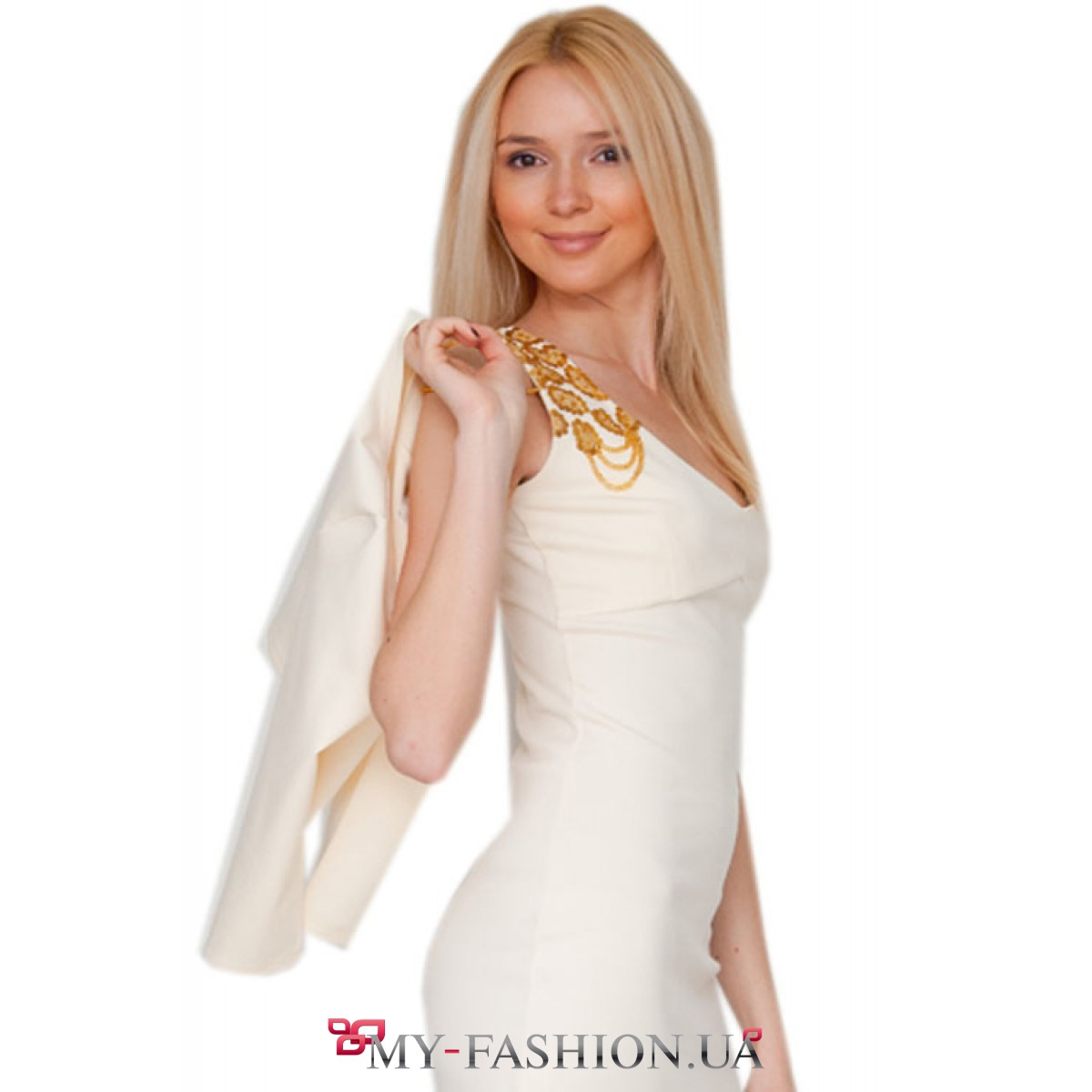 Белый костюм женский
