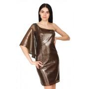 Темно коричневое платье вечернее платье
