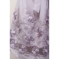 Летнее платье из натурального хлопка цвета какао