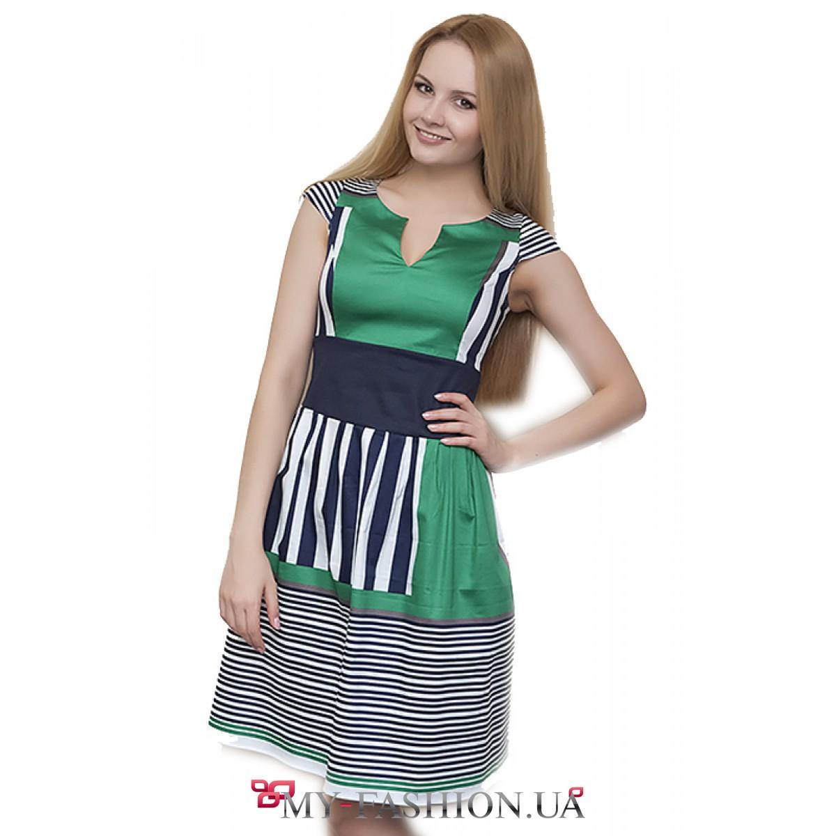 Комбинированные платья с доставкой