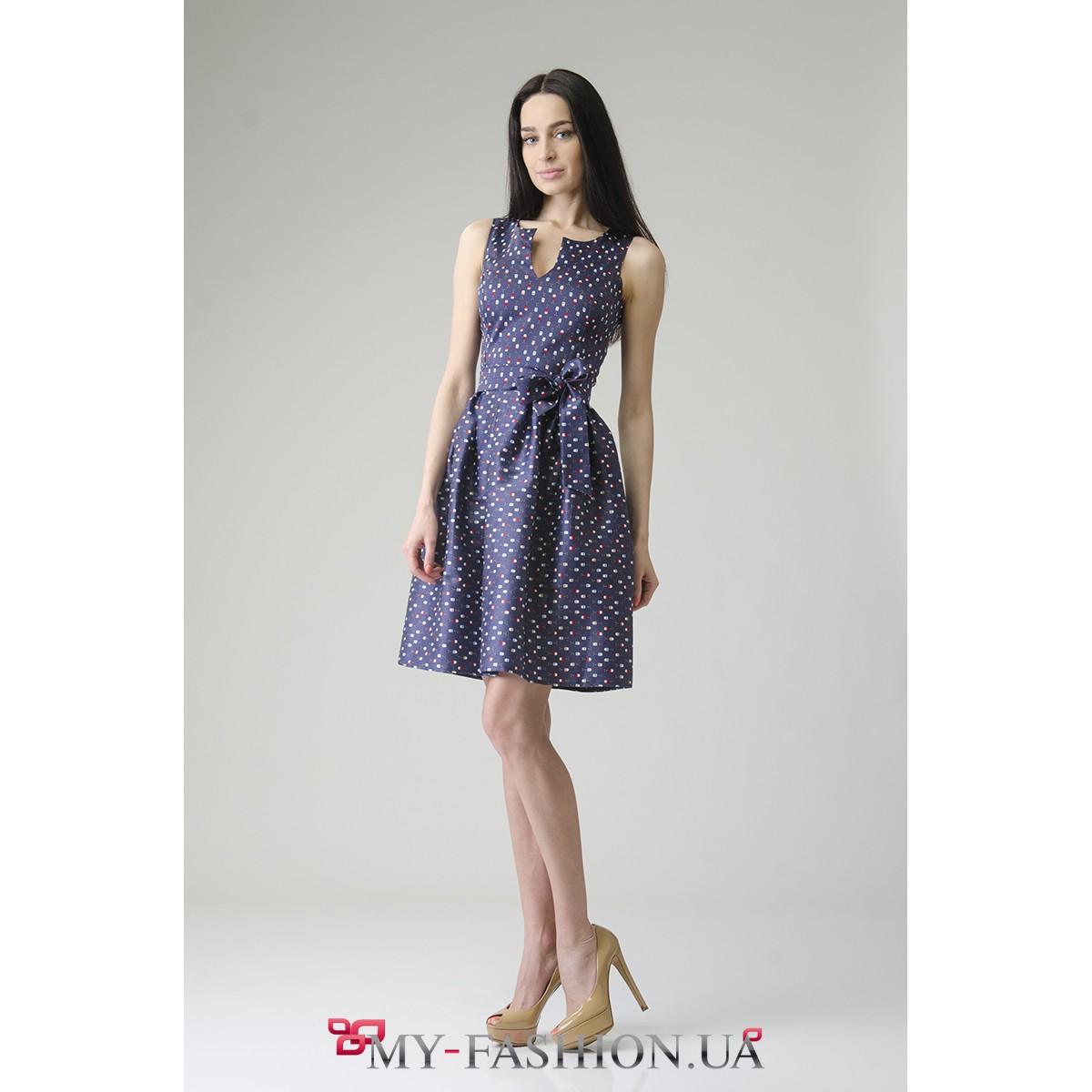 Короткие платья с пышной юбкой купить