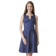 Короткое платье с оригинальным принтом