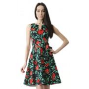 Яркое летнее платье из натуральной ткани