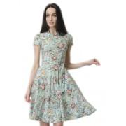 Лёгкое платье из эластичной ткани