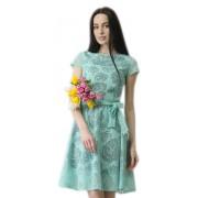 Нарядное платье с расклешённой юбкой