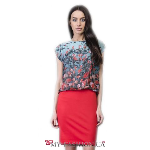 Красивое платье со свободной полочкой