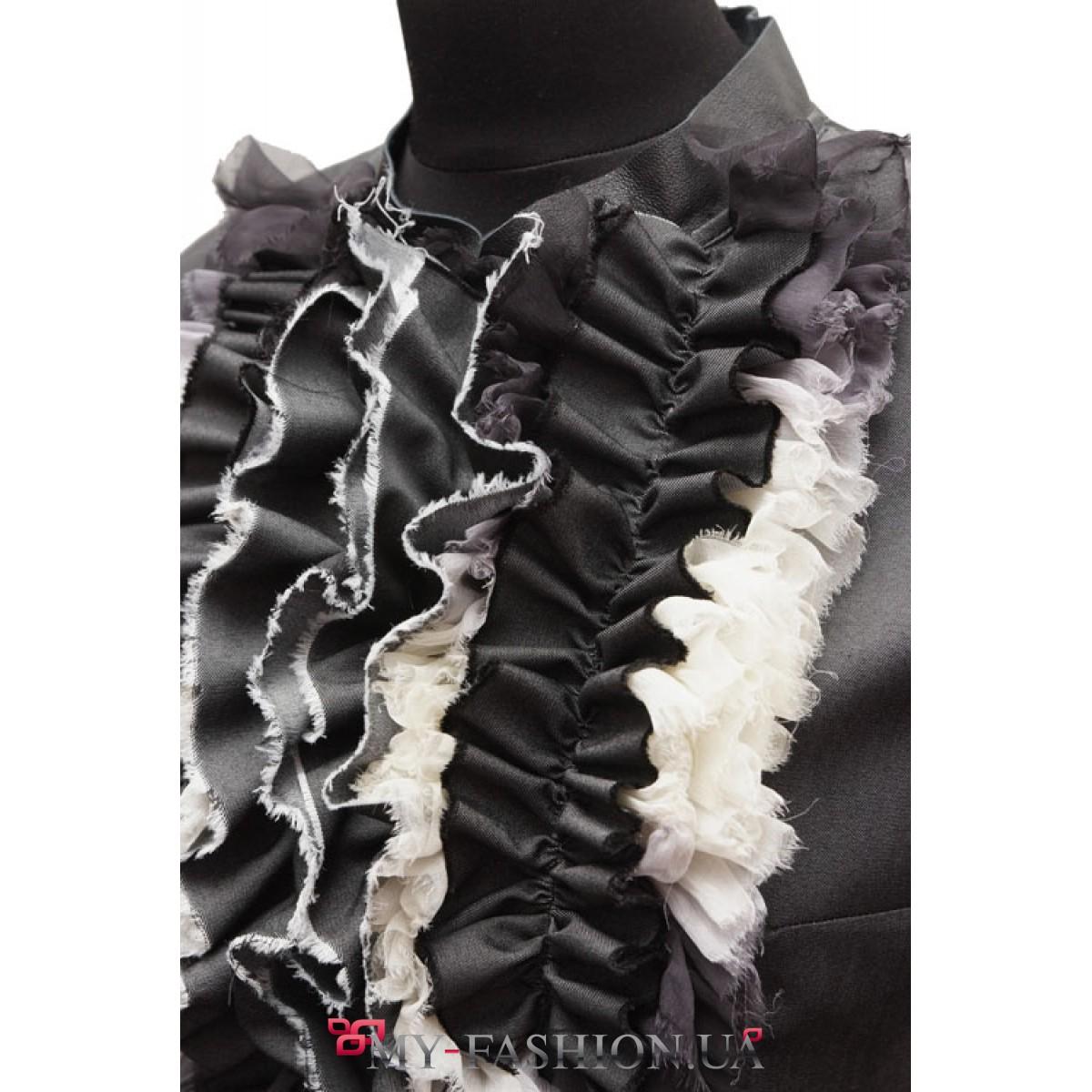 Фото блузки с рюшами доставка