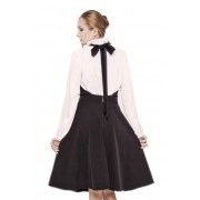Дизайнерская юбка-фартук из вискозы