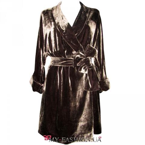 Купить женский шелковый костюм доставка