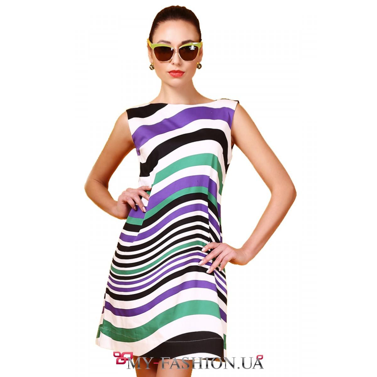Платье из тонкого коттона