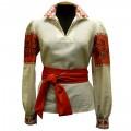 Рубашка-вышиванка с орнаментальным узором