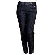 Дизайнерские женские брюки приталенного силуэта