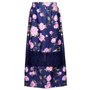 Дизайнерская юбка максимальной длины