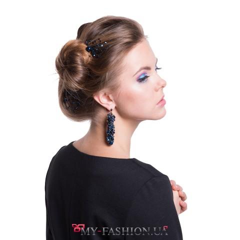 Привлекательные серёжки и булавки для волос