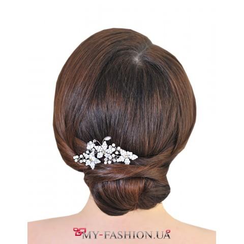 Нежные дизайнерские шпильки для волос