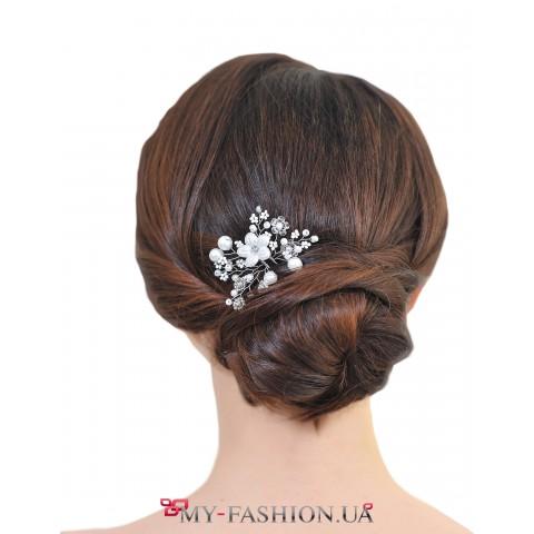 Роскошная дизайнерская шпилька для волос