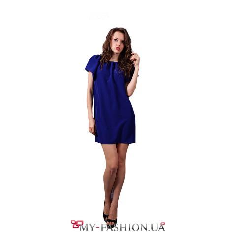 Струящееся платье из мокрого атлас-шелка