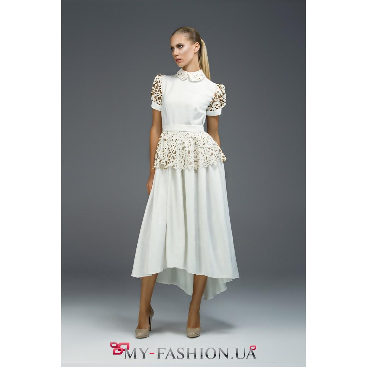 Платья с средней юбкой