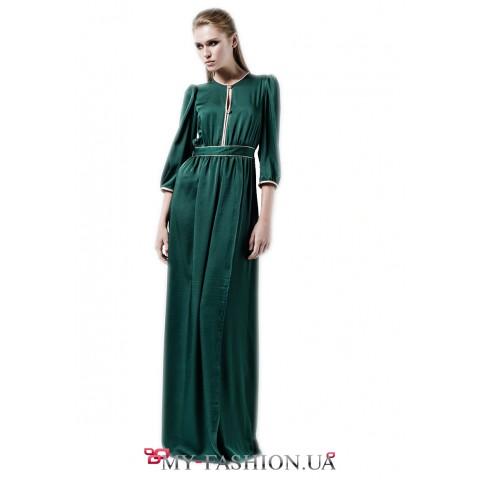 Вечернее платье максимальной длины