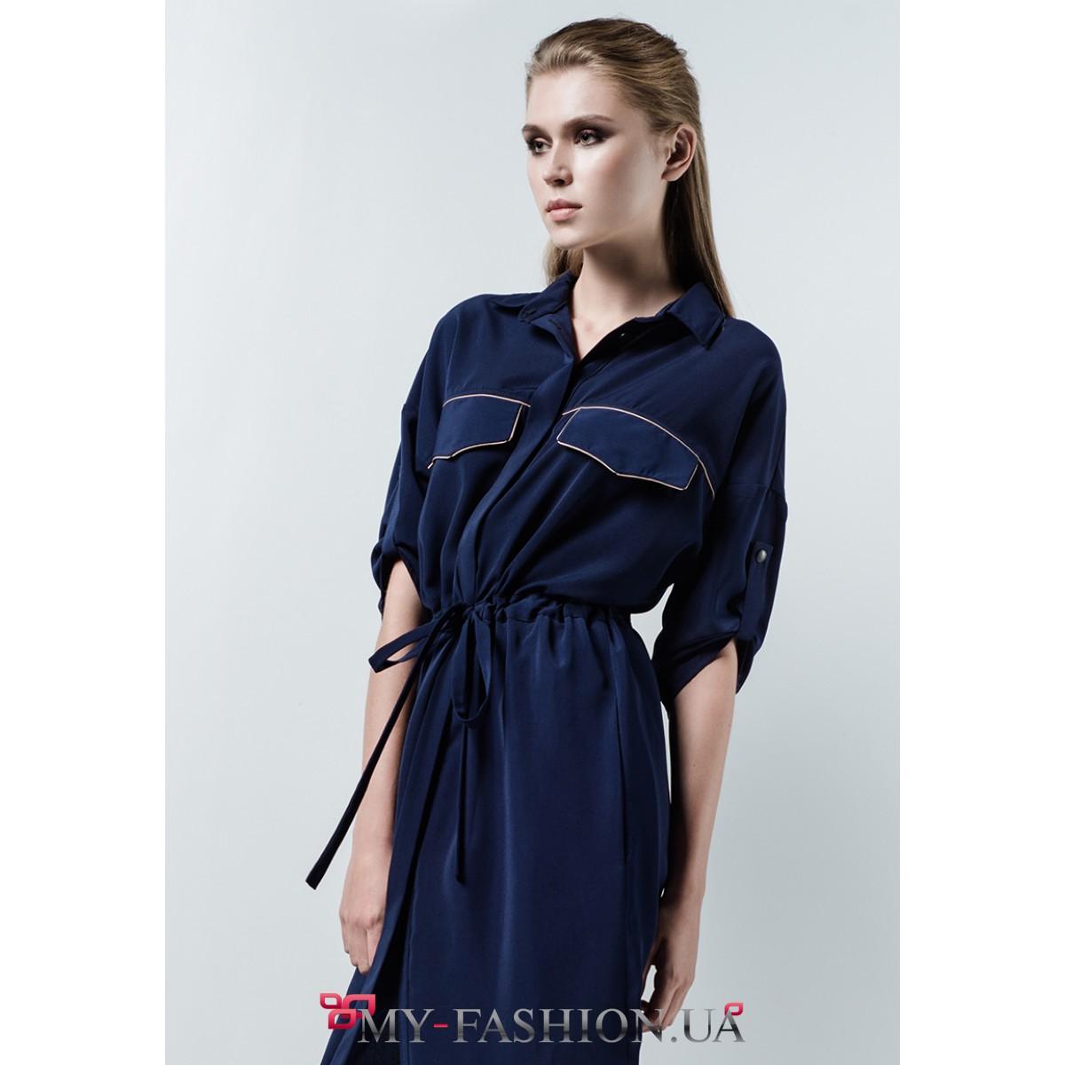Купить платье мокрый шелк