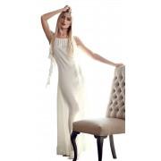 Вечернее шёлковое платье с крыльями