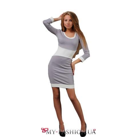 Платье- соблазн с широким горизонтальным корсетом