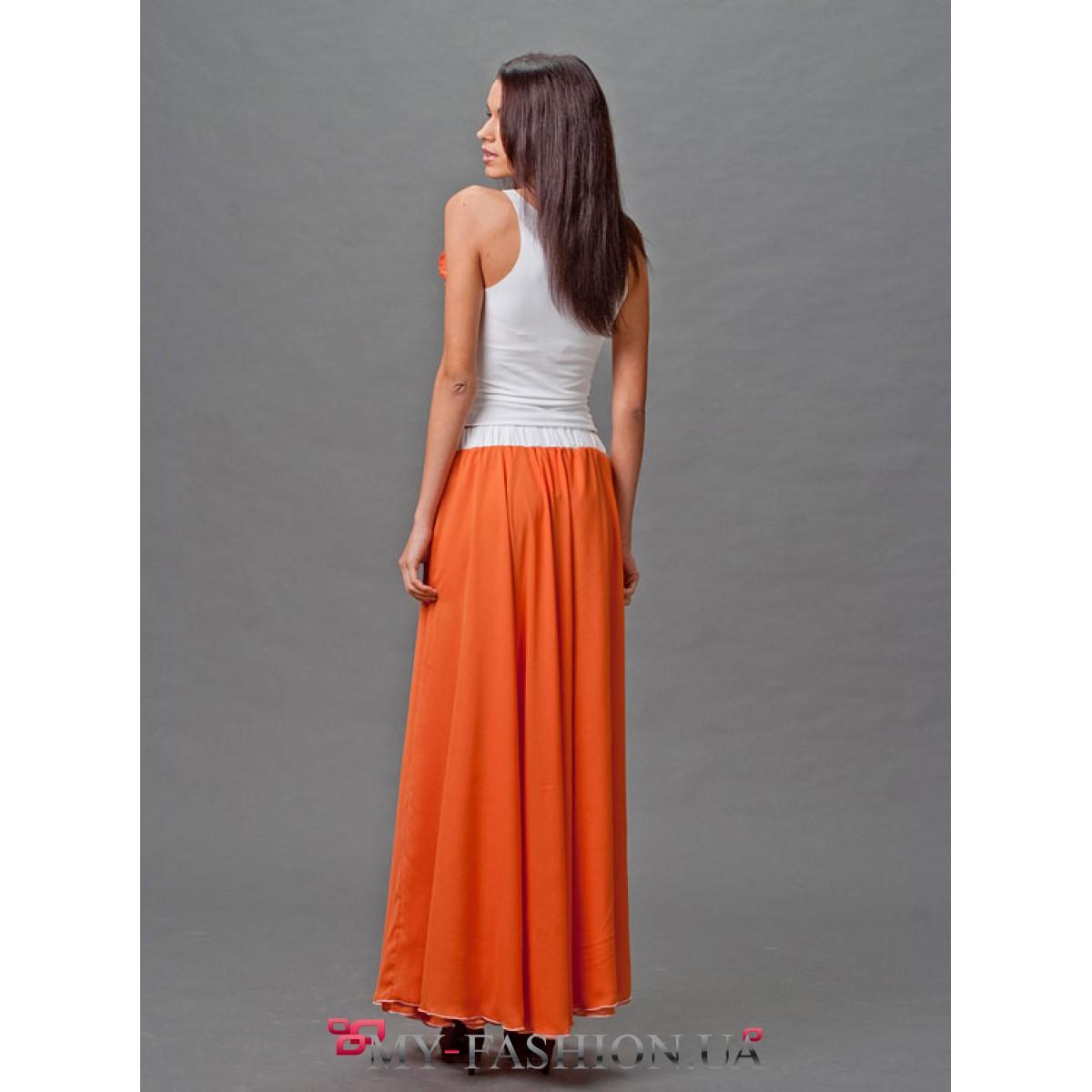 Купить шифоновую юбку