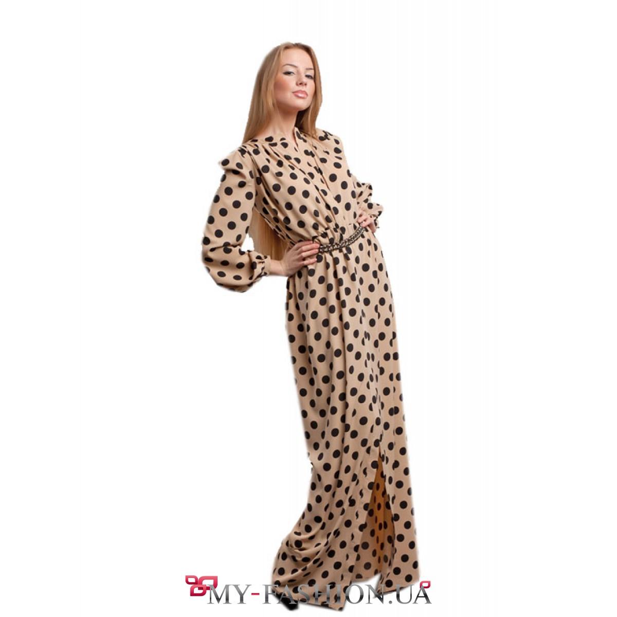 Где купить платье в горох