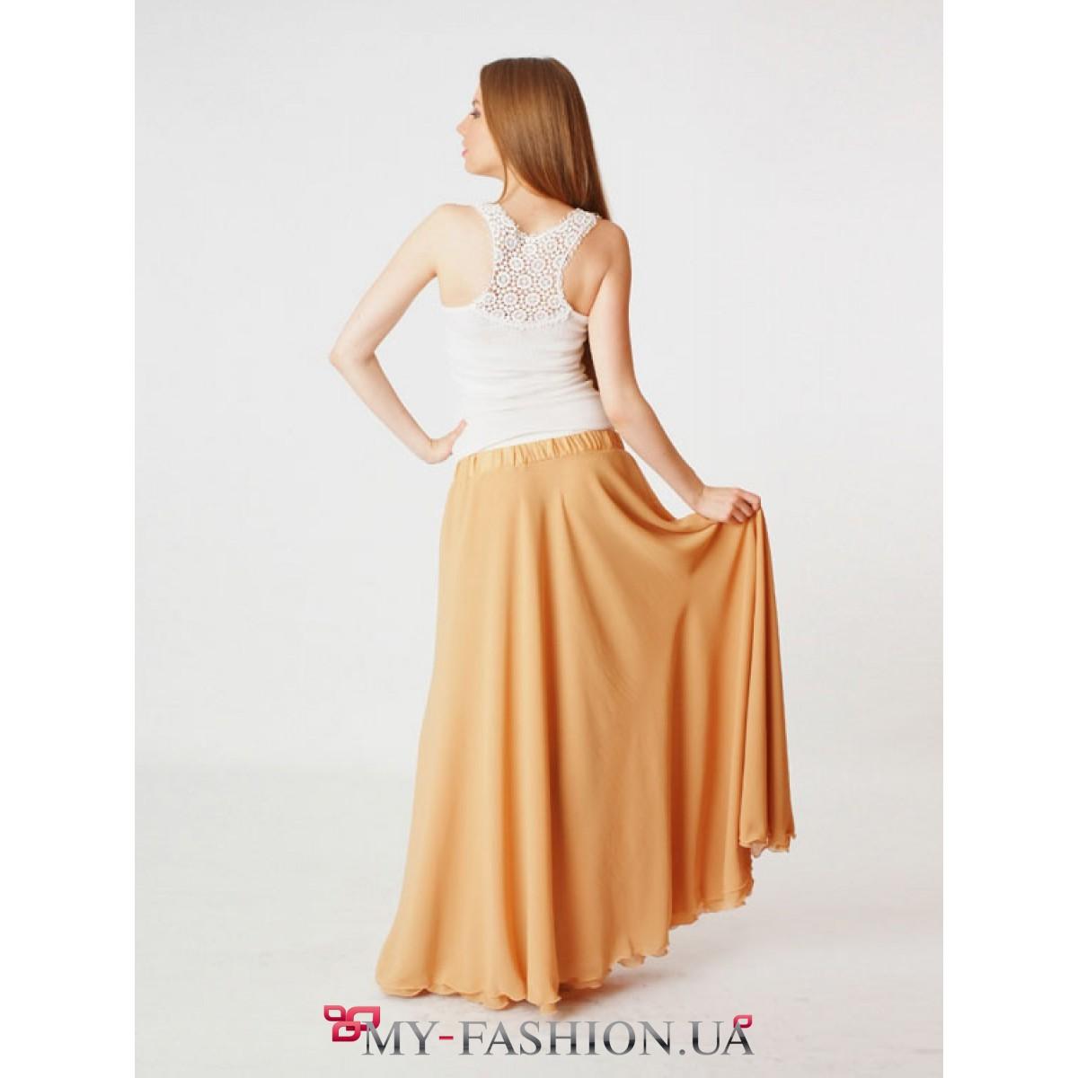 Модные длинные юбки доставка