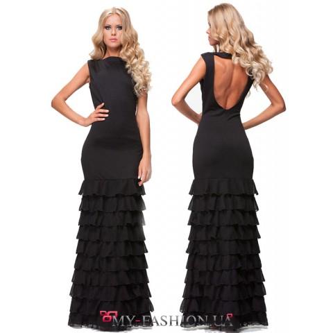 Длинное сказочно красивое платье